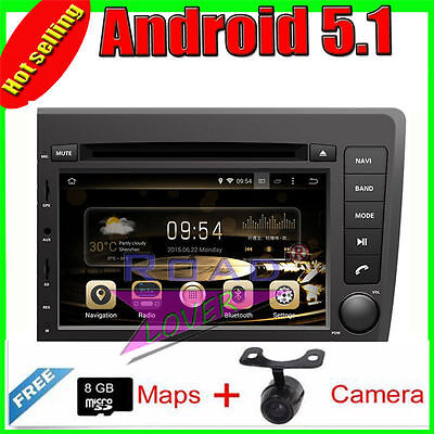 Android 5.1 Quad Core Car GPS Navigation For Volvo S60/ V70 2001-2004 DVD Player
