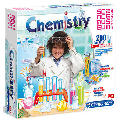 Clementoni Chemistry at Home (200 exciting safe lab experiments)