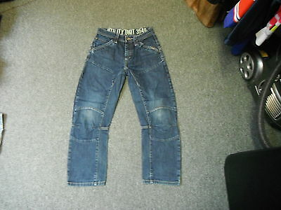 "Next Relaxed Jeans Waist 24"" Leg 24"" Faded Dark Blue Boys 11 Yrs Jeans"