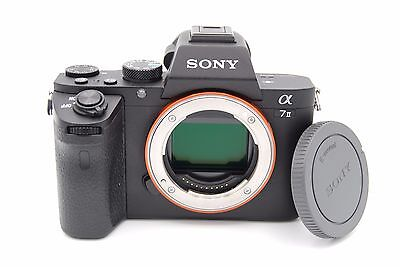 Sony Alpha a7 II 24.3MP Digital SLR Camera - Black (Body Only)