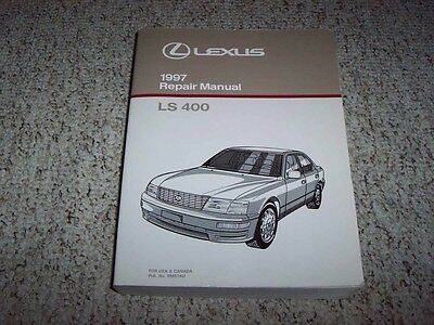 1997 Lexus LS400 LS 400 Factory Workshop Shop Service Repair Manual Book