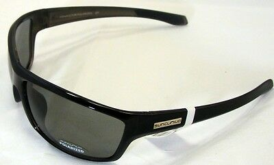 Suncloud Conductor Sunglasses - Black Backpaint Frames/Gray Lens