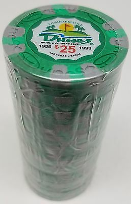 Poker Chips (25) $25 Dunes Commemorative 9 gram Clay Composite FREE SHIPPING*