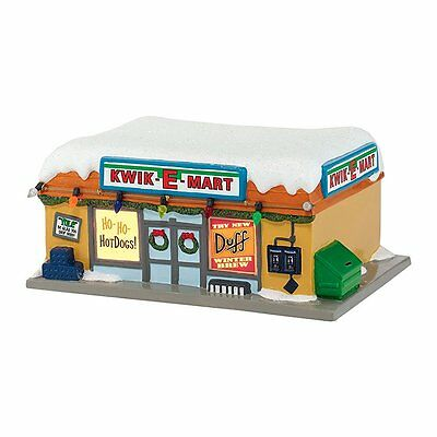 Kwik-E-Mart from the The Simpsons Christmas Village Set