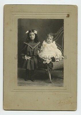 Early 20th Century Vernacular Photography - Mounted Photograph - Young Children