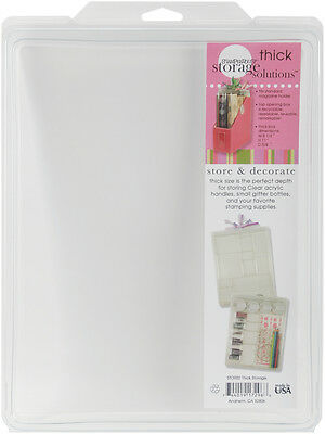 """Thick Stuftainer-8.5""""X11""""X.63"""", Set Of 5"""