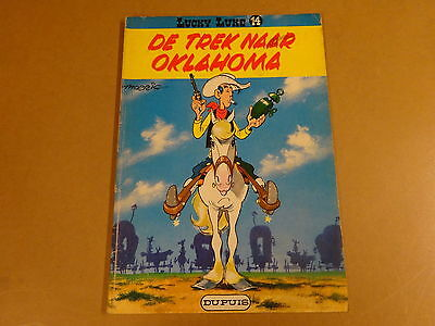 Strip / Lucky Luke N° 14 - De Trek Naar Oklahoma