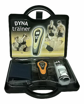 DYNA muscle trainer- With Electro stimulation EMS for Success - Core trainer