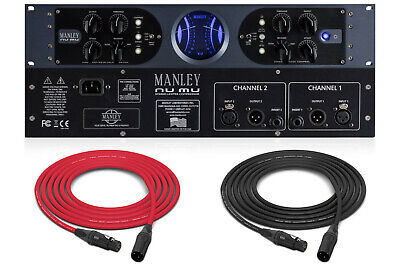 Manley Nu Mu   Dual Channel Tube/Solid-state Limiter/Compressor with Stereo Link