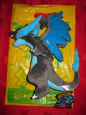 Pokemon Neuf ★ Peluche Mega M Dracaufeu Ex ★ 30Cm Pokemon Center Japan + Sac Rar