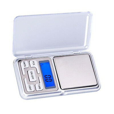Digital 500g x 0.1g Pocket Scale Tool Jewelry Weight Electronic Balance Scale CA