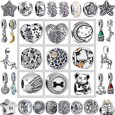 New Luxury Fashion Jewelry Charms European Beads For 925 Silver Bracelet Bangle