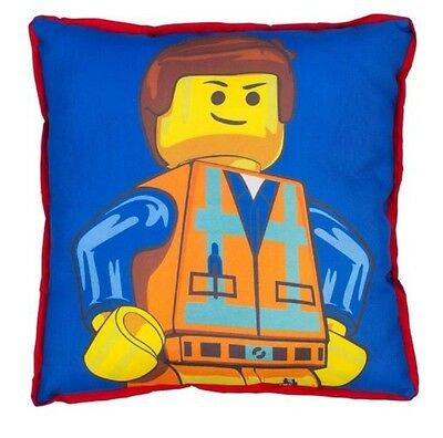 LEGO Emmet Canvas Square Cushion, Polyester Double Sided