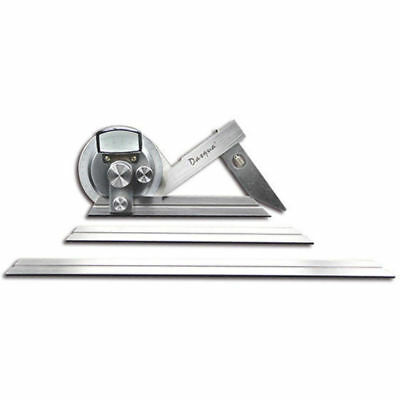 Dasqua Universal Bevel Protractor with Fine Adjustment  (Ref: 10312005)