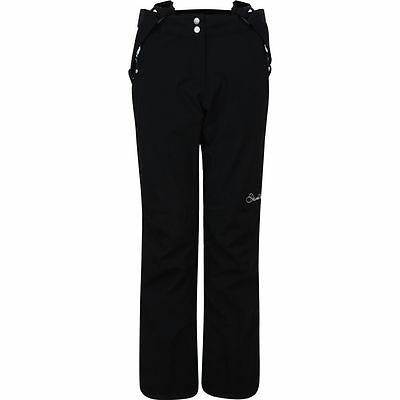 Dare 2B Stand For Ladies Ski Pants Snowboarding Black Salopettes Slim Leg