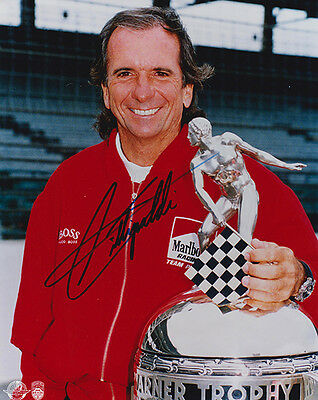 Emerson Fittipaldi Signed Photograph,Indianapolis 500,