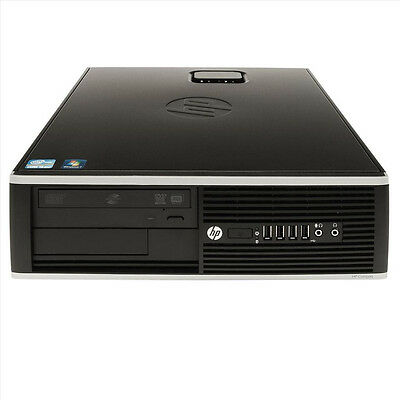 Lot of 2 - HP 6300 Pro Core i3-3220 3.3GHz 4GB 500GB SFF Desktop PC's - D8C61UT