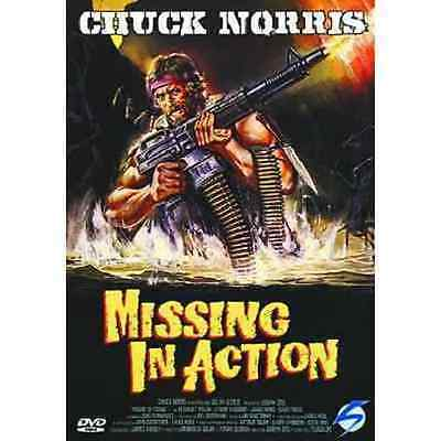 DvD MISSING IN ACTION - Chuck Norris  ......NUOVO