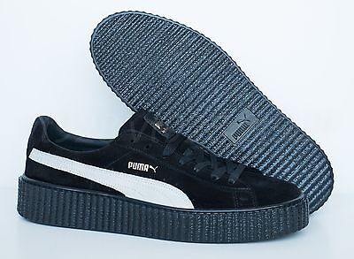 841400ca8e515d New Puma Fenty By Rihanna Creepers Suede Black - White Men s Shoes All Sizes