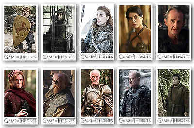 Game Of Thrones Characters - Postcard Set #5