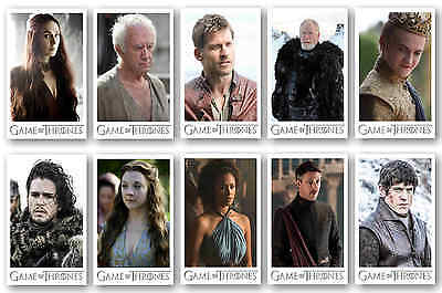 Game Of Thrones Characters - Postcard Set #3