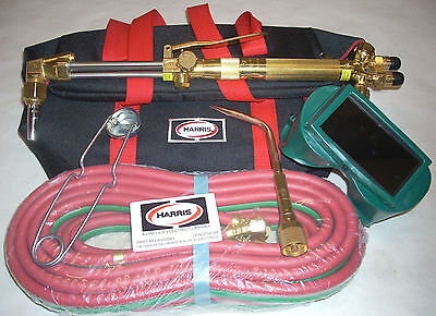 Genuine Harris Cutting Welding Torch Steelworker for Acetylene w Accessory Pack