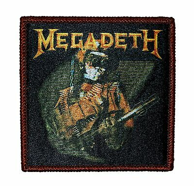 """Megadeth"" So Far, So Good, So What Album Art Metal Band Iron On Applique Patch"
