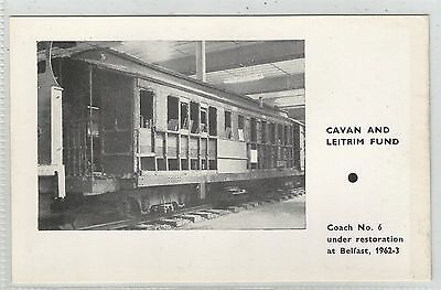 irish private postcard ireland cavan and leitrim fund railway