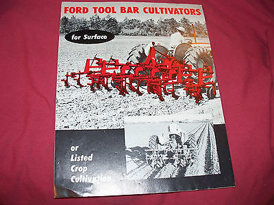 1950's Ford Tool Bar Cultivator Brochure