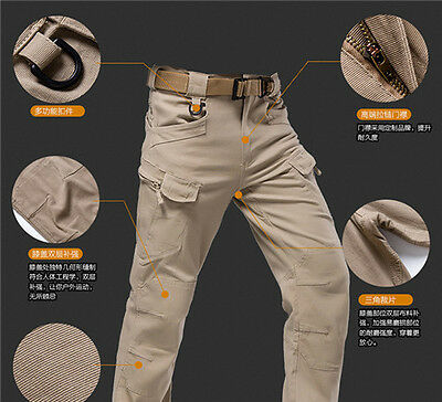 Men Pants Outdoor Military City Tactical Combat Trousers Camping Casual BO66-69