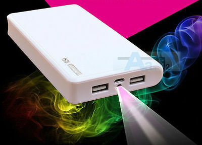 AU 50000mAh Super 2USB Power Bank External Battery Charger For Cell Mobile Phone