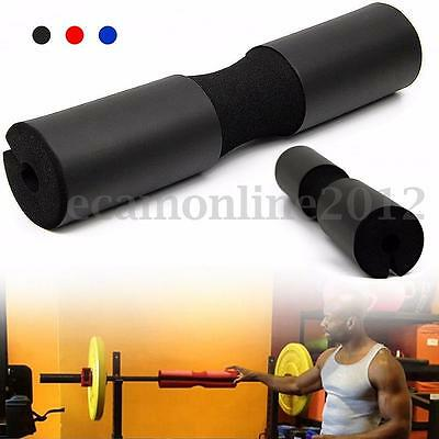 Foam Padded Barbell Bar Cover Squat Pad Gym Weight Lifting Shoulder Back Support