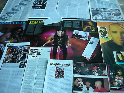Anthrax - Magazine Cuttings Collection (Ref 1)