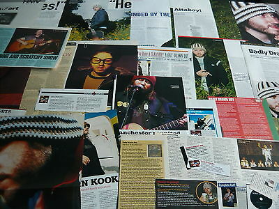 Badly Drawn Boy - Magazine Cuttings Collection (Ref Xd)