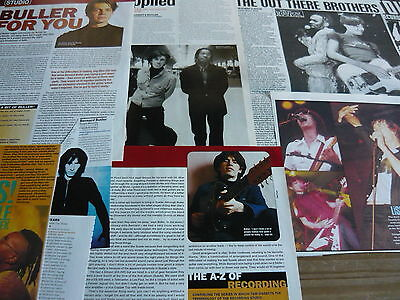 Bernard Butler - Magazine Cuttings Collection (Ref Zf)