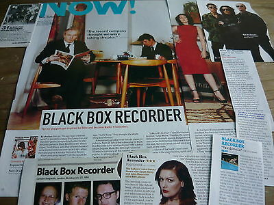 Black Box Recorder - Magazine Cuttings Collection (Ref Xd)