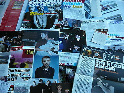 Blur - Magazine Cuttings Collection (Ref Zf)
