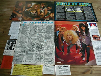 Black N' Blue - Magazine Cuttings Collection (Ref T4)