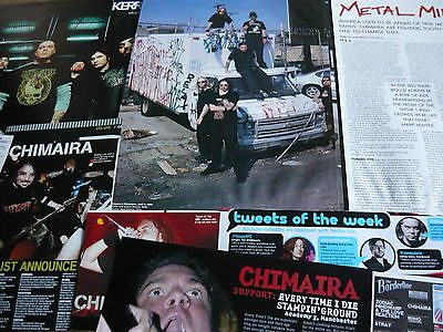 Chimaira - Magazine Cuttings Collection (Ref X1A)