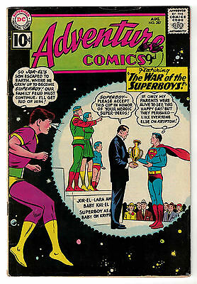 DC Comics ADVENTURE COMICS Superboy Issue 287 The War Of The Superboys! FN-