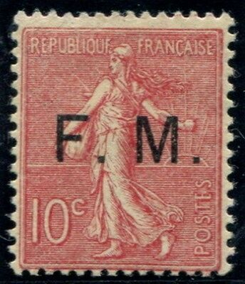 Lot N°3766a France Franchise Militaire N°4 Neuf ** LUXE