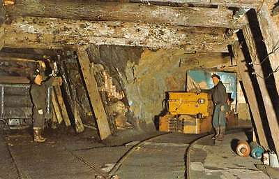 Ashland Pennsylvania Anthracite Coal Mine Workers Vintage Postcard K42513