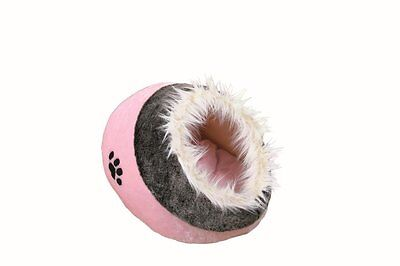 Trixie Minou - PINK Soft Cushy Cat Cave - Cosy Bed 36301