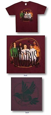 Incubus-NEW Scribble Frame T Shirt- Large  SALE FREE SHIP TO U.S.!