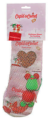 Rosewood Christmas Dinner Cat Stocking Xmas Treats And Toys