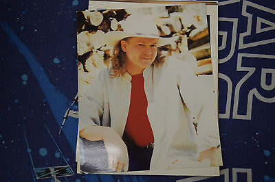 Tracy Lawrence 8x10 Vintage 90's Promo Fan Club Photo Full Color