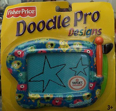 Fisher Price Doodle Pro Design Magnetic Drawing Screen Portable - Alien Monsters