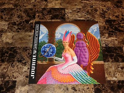 Journey Rare 12x12 Promo Poster Flat Greatest Hits Live Steve Perry Neal Schon