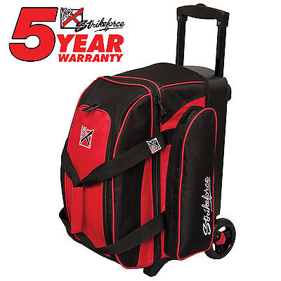 500740f7d1c2 KR STRIKEFORCE KOLORS Double Roller 2 Ball Bowling Bag Red -  84.99 ...