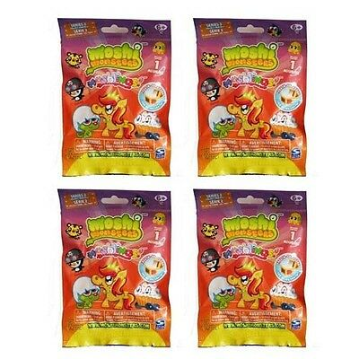 Moshi Monsters Moshlings Series 2 Mystery Pack set of 4 Mystery Packs
